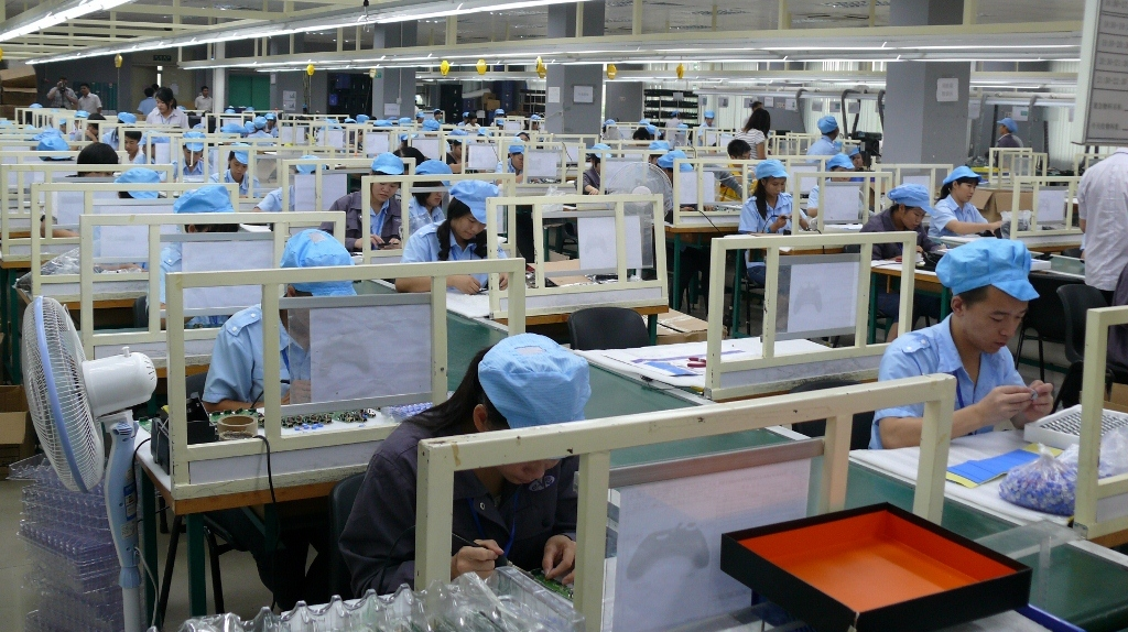 Harsh factory environments triggering Chinese workers